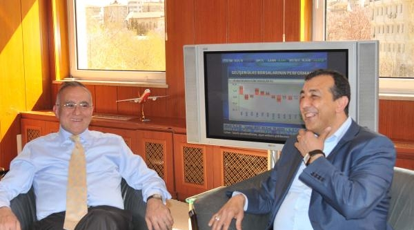 Bdp'li Demirbaş'tan Ak Partili Belediye Başkanına Ziyaret