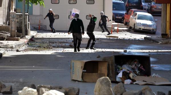 Bdp'liler Erzurum'un Mahallebaşı'nda Eylem Yaptı
