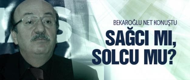 Bekaroğlu'ndan özel açıklamalar! Neden CHP?