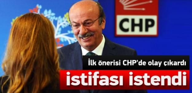 Bekaroğlu'nun ilk önerisi CHP'yi gerdi