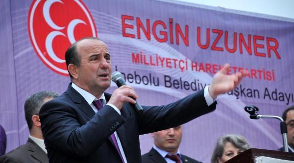 Belediye Başkanı Mitingde Ağzını Bozdu
