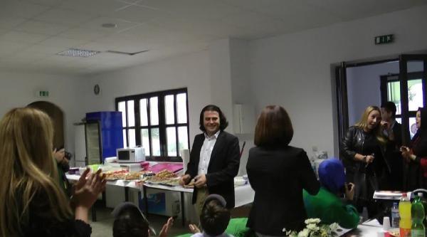 Belediye Meclis Üyesi Ayhan Yeşil'e Sürpriz Kutlama Partisi