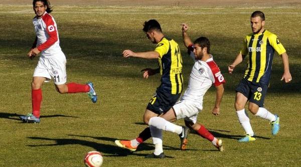Belediye Vanspor-Menemen Belediyespor: 1-2