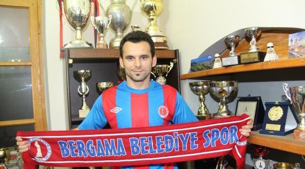 Bergama Belediyespor Gökhan'la 2 Yıllık Sözleşme İmzaladi