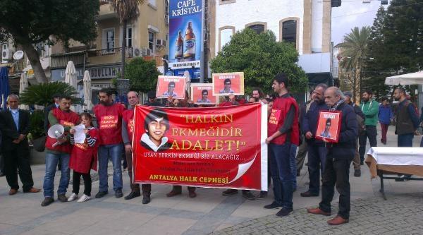 Berkin Elvan İçin Antalya'dan İstanbul'a 'adalet Yürüyüşü'