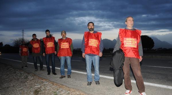 Berkin Elvan İçin Antalya'dan İstanbul'a Yürüyorlar