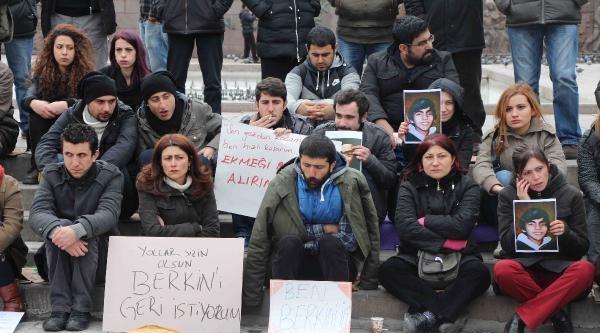 Berkin Elvan İçin Kızılay'da Oturma Eylemi  / Fotoğraflar