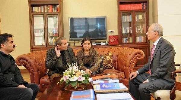 Berkin Elvan'in Ailesi Kiliçdaroğlu'nu Ziyaret Etti