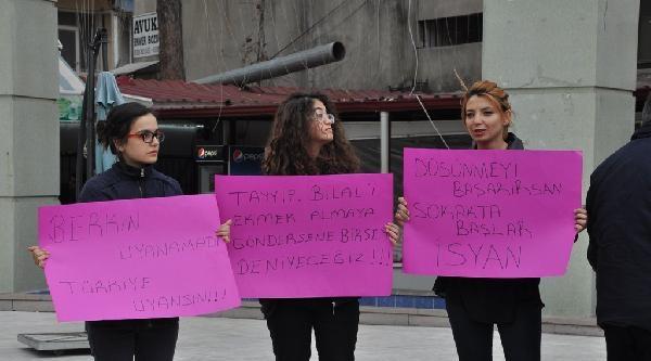 Berkin Elvan'ın Ölümü Osmaniye'de Protesto Edildi