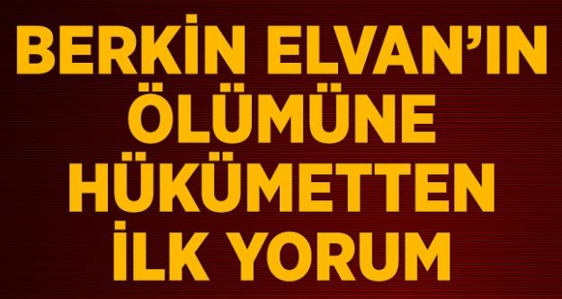 Berkin Elvan'ın ölümüne hükümetten ilk yorum...