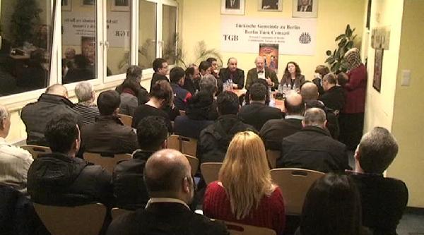 Berlin Yabancılar Dairesi Başkanı Tgb'yi Ziyaret Etti