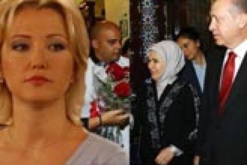 Berna Laçin'e Küba'da Erdoğan sürprizi!