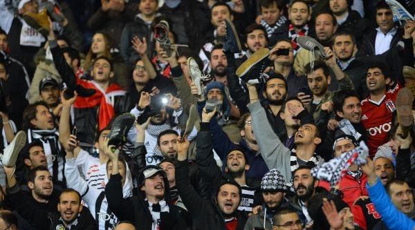 Beşiktaş - Elaziğspor Maçinin Ikinci Yari Fotoğraflari