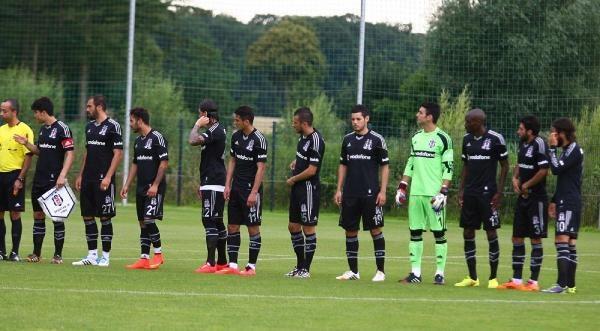 Beşiktaş İlk Hazırlık Maçında Almanya  Amatör Ligi Takımı Sc Verl'i 3-1 Yendi