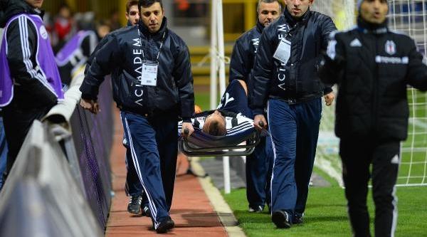 Beşiktaş - Sivasspor Maçinin Ikinci Yari Fotoğraflari