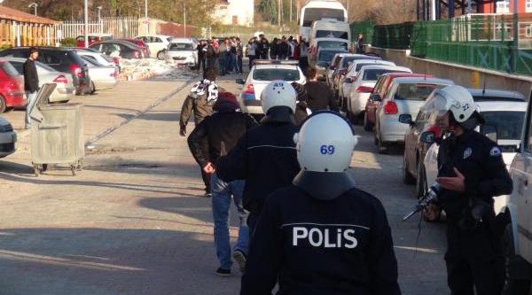 Beşiktaş Taraftarlari Gerginlik Çikartti