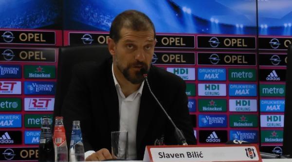 Beşiktaş Teknik Direktörü Bılıc: Üst Düzey Bir Futbol Oynadık