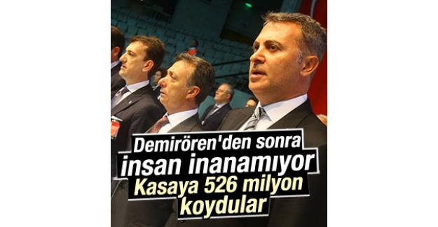 Beşiktaş'a hangi sponsor ne kadar para veriyor