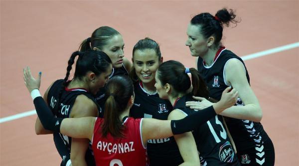 Beşiktaşlı Kadın Voleybolcular Cev Challenge Kupası Finalinde İlk Maçı 3-2 Kaybetti