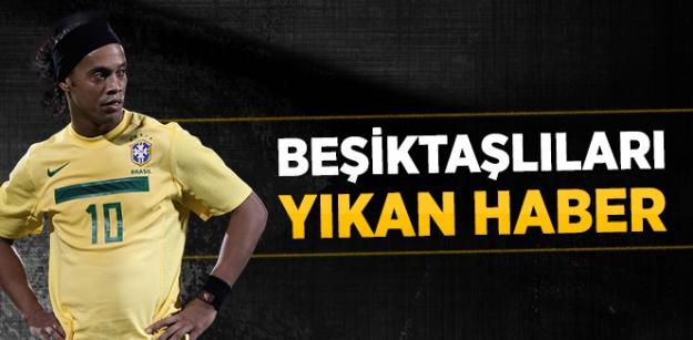 Beşiktaşlıları yıkan haber...