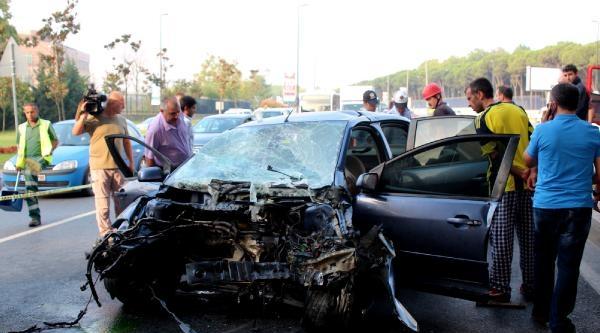 Beşiktaş'ta Trafik Kazası : 9 Yaralı