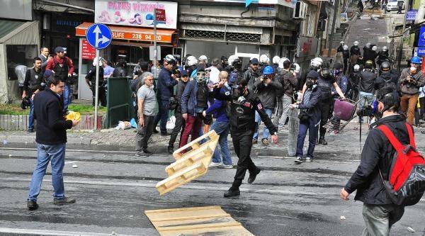 Beşiktaş'ta Üçüncü Polis Müdahalesi