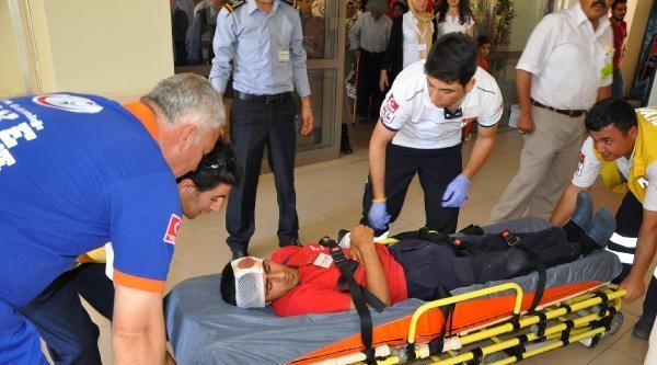 Besni Devlet Hastanesi'nde Yangın Tatbikatı