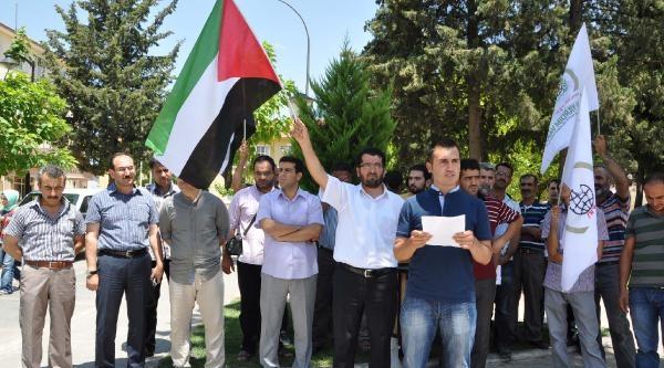 Besni'de İsrail Protestosu