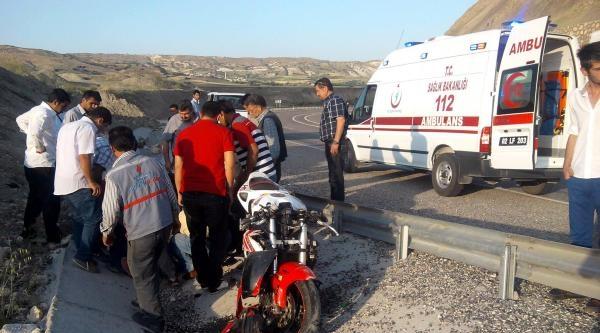 Besni'de Kaza: 1 Yaralı