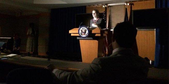 Beyaz Saray'da elektrik kesildi!