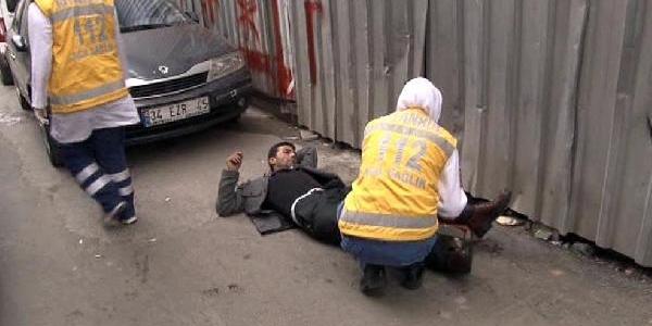 Beyoğlu'nda Biçakli Saldiri