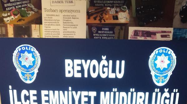 Beyoğlu'nda Bonzai Operasyonu Kamerada