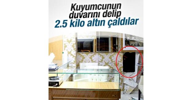 Beyoğlu'nda filmleri aratmayan kuyumcu soygunu