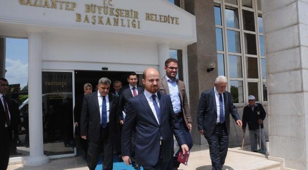 Bilal Erdoğan Gaziantep'i Ziyaret Etti