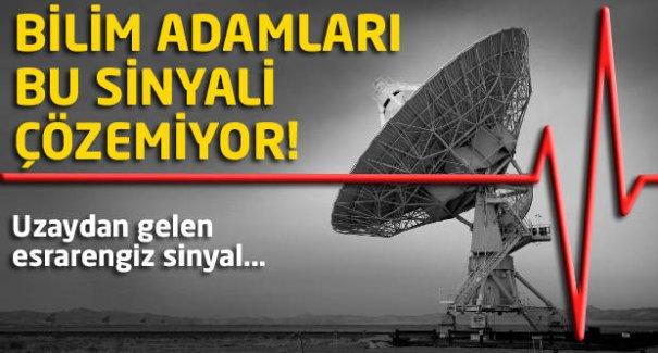 Bilim adamları bu sinyali çözemiyor! Uzaydan gelen esrarengiz sinyal...