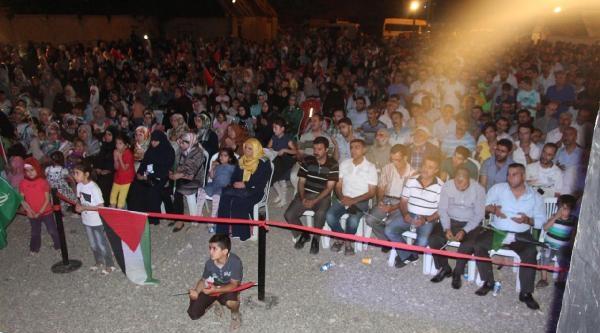 Bingöl'de Gazze İle Dayanışma Gecesi