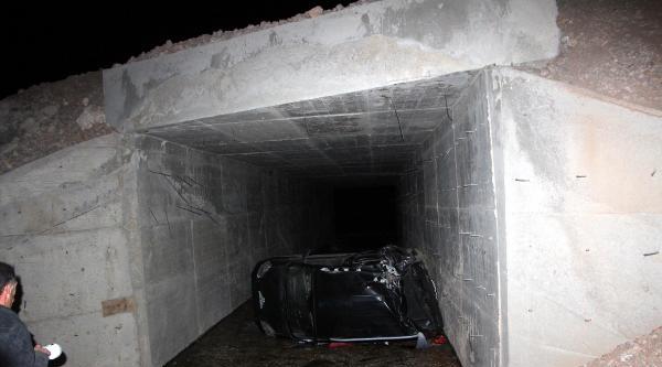 Bingöl'de Kaza: Baba Öldü, Oğlu Yaralı