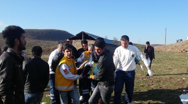 Bingöl'de Midibüs Devrildi: 20 Yaralı (fotoğraflar)