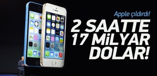 Bir telefonla 17 milyar dolar