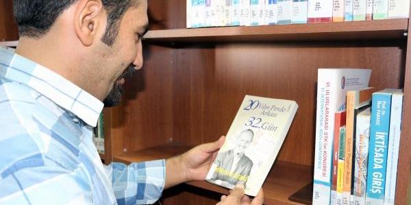Birand'in Kitaplari Şirnak Üniversitesi Kütüphanesi'nde