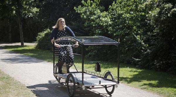 Bisiklet 'cenaze Aracı' Da Yapıldı