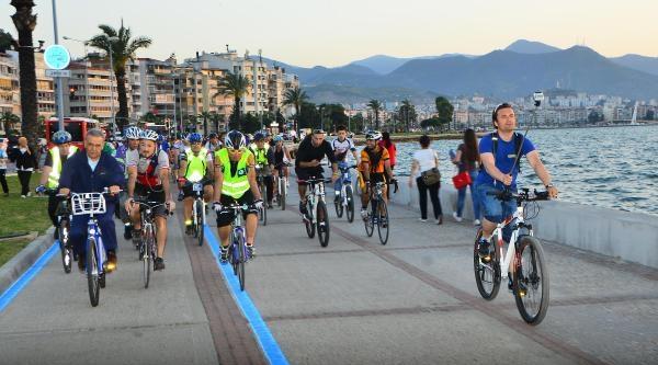 Bisiklet Kenti Hedefine Başkan Kocaoğlu Desteği