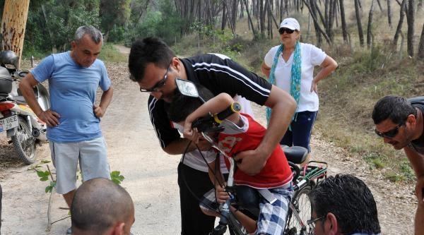 Bisiklette 'ayak Freni' Sakat Bırakıyordu