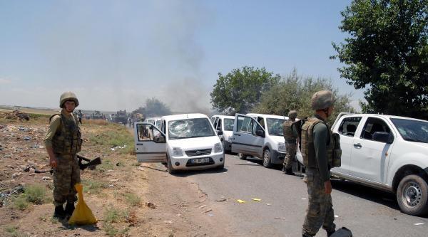 Bismil'de Sayaç Okumaya Giden Dedaş Ekibine Saldırı