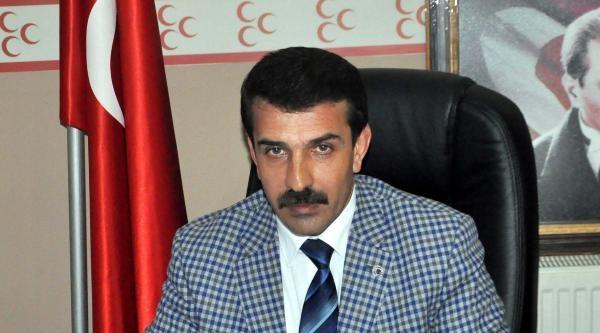 Bitlis Mhp İl Başkanı Taşdemir:hiç Bir Partiyle Birleşmiyoruz