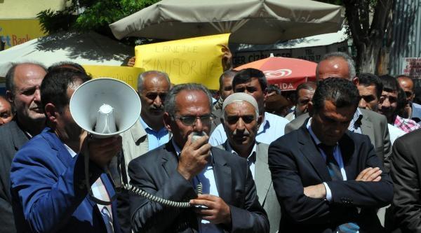 Bitlis'te Lice Protestosu