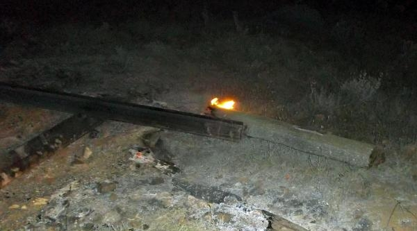 Bitlis'te Tren Rayı Hırsızlığına Suçüstü