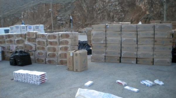 Bitlis'te Uyuşturucu Ve Sigara Operasyonu