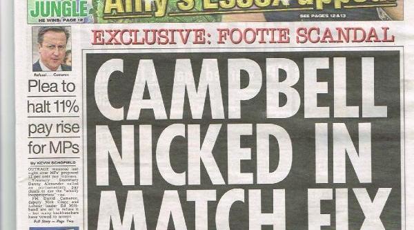 Blackburn Rovers'li Campbell Da Şikeye Karişmiş