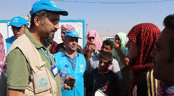 Bm'nin Irak'ta Çadir Kentlerine Yerleşim Başladı